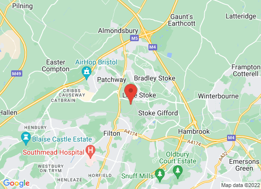 The Car Shop Bristol's location