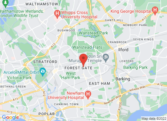 Express Motors (London)'s location