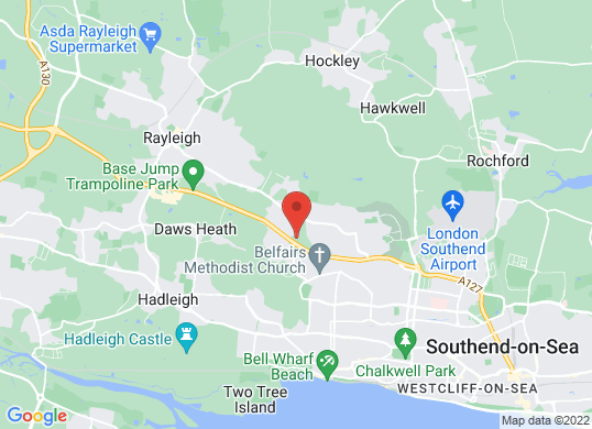 smart of Southend's location