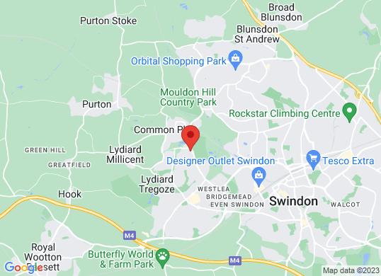 Eden Vauxhall Swindon's location