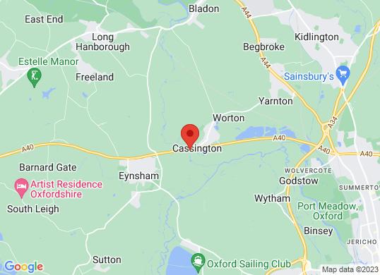 Rygor Oxford's location