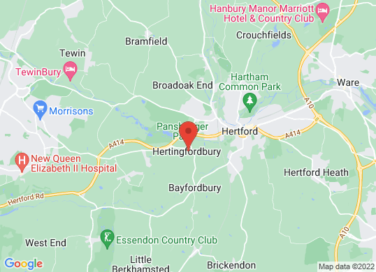 Marshall Volkswagen Harlow's location