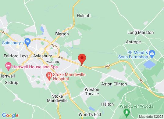 Perrys of Aylesbury's location