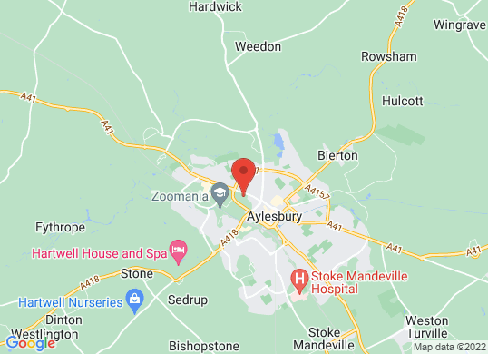 Audi Approved Aylesbury's location