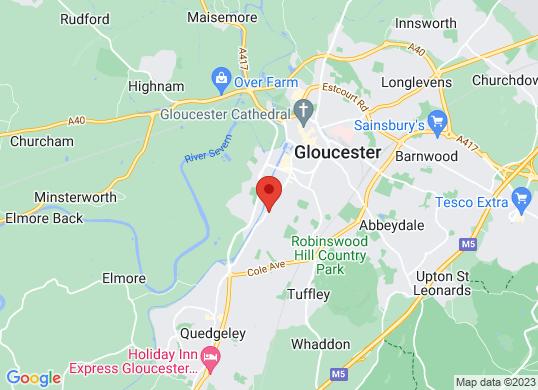 Gloucester Trade Motor Centre's location
