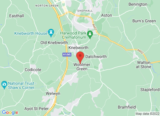 Marshall Vauxhall Knebworth 's location