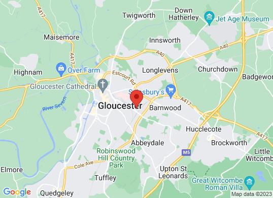 Rygor Gloucester's location