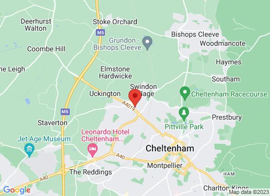 Marshall Jaguar Cheltenham & Gloucester's location