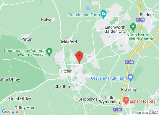 Hitchin Audi 's location