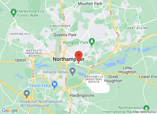 Marshall Skoda Northampton's location