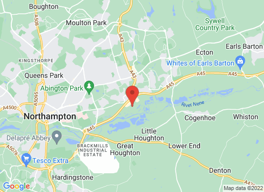 Northampton Motors's location