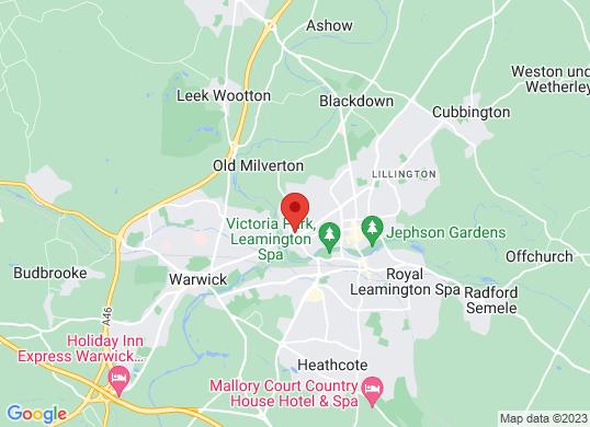 Drive Vauxhall Leamington Spa's location