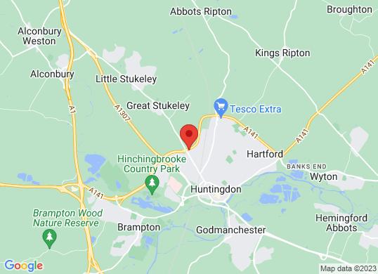 TC Harrison Huntingdon's location