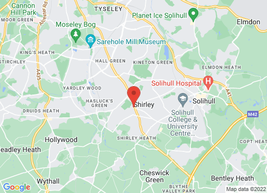 Renault Solihull's location