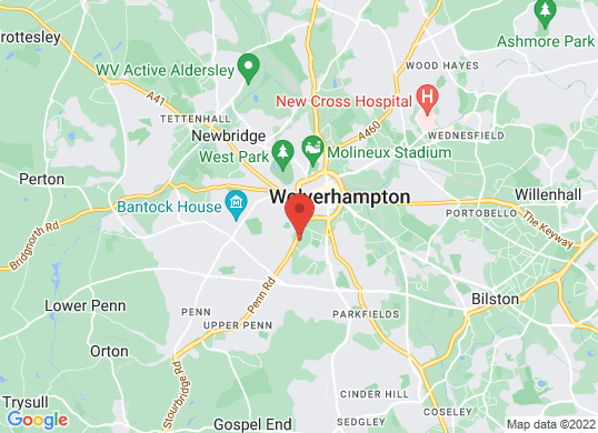 Jardine Jaguar Wolverhampton's location