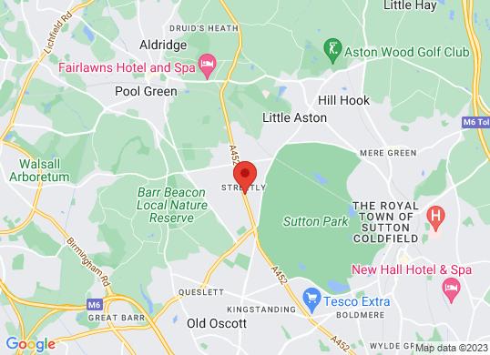 West Way Birmingham's location