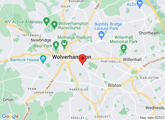 Wolverhampton VW's location