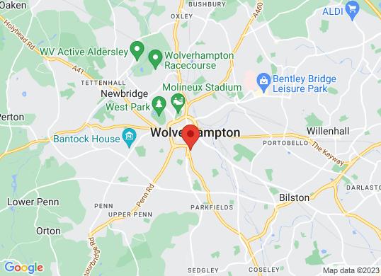 West Way Wolverhampton's location