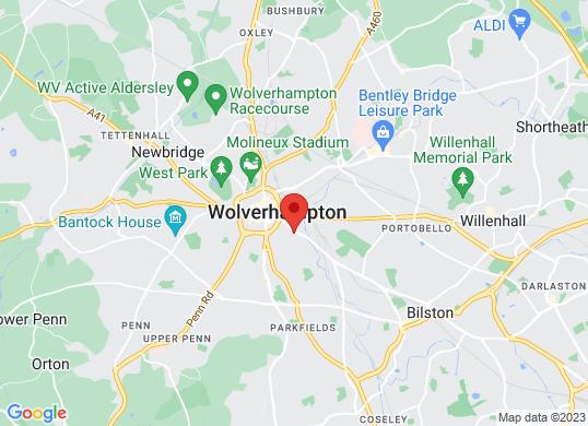 Renault Wolverhampton's location