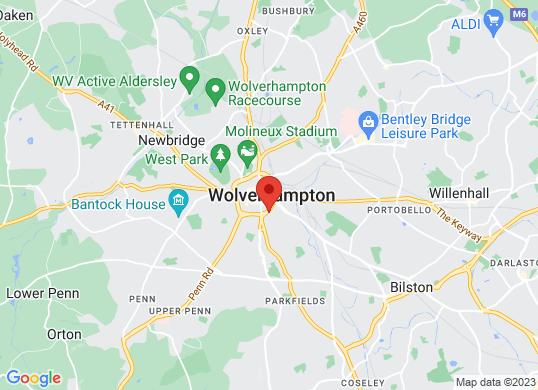 Wolverhampton Audi's location