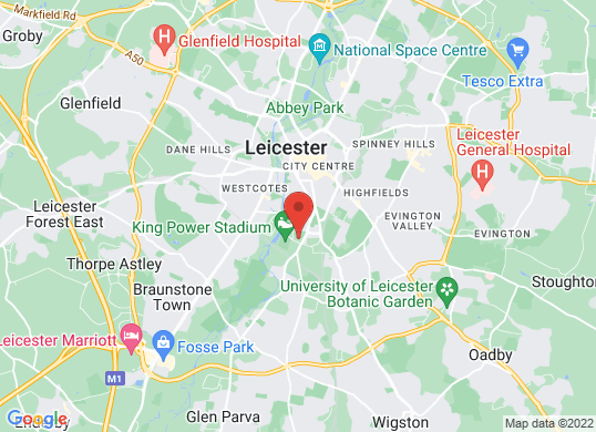 Marshall Seat Leicester's location