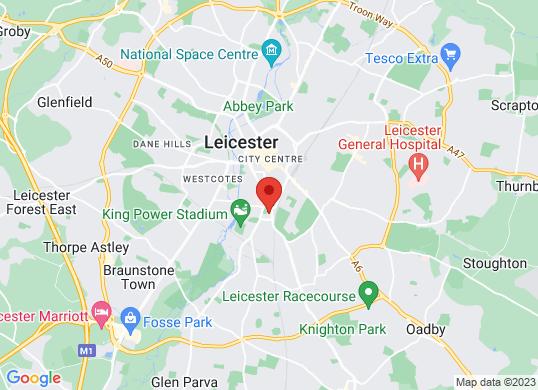 Farmer And Carlisle Leicester's location
