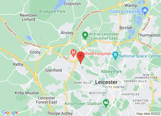 Marshall Skoda Leicester's location