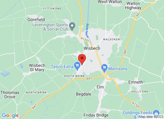 Thurlow Nunn (Wisbech)'s location