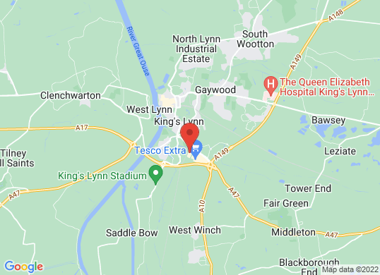Thurlow Nunn (Kings Lynn)'s location