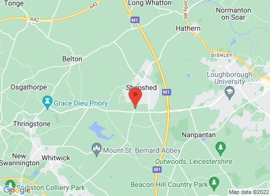 Shepshed Ford's location