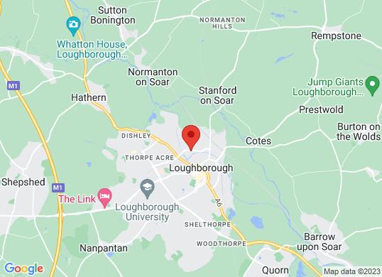 Farmer And Carlisle Loughborough's location