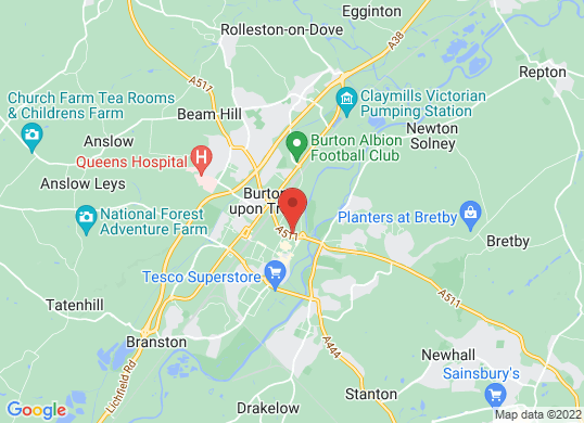 TC Harrison Burton's location