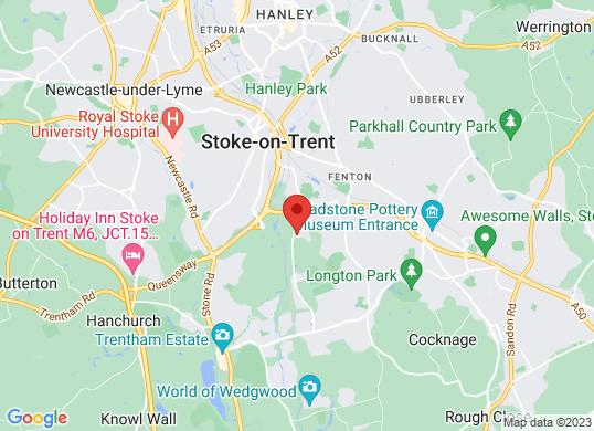 Stoke Audi's location