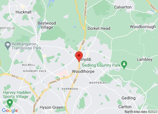 Marshall Skoda Nottingham's location