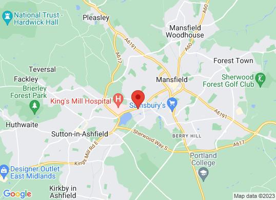 Pentagon Mansfield's location