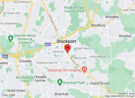 Motor Match Stockport's location