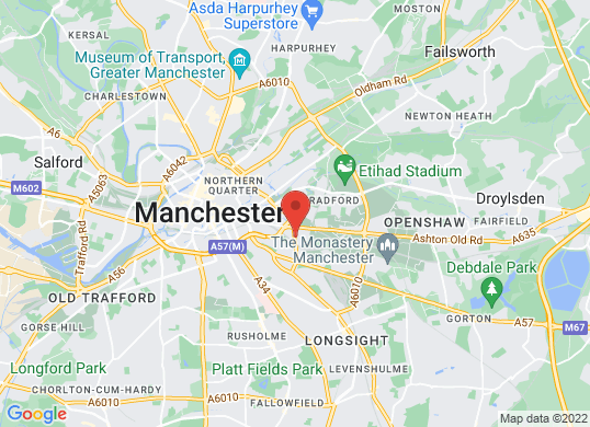 West Way Manchester's location