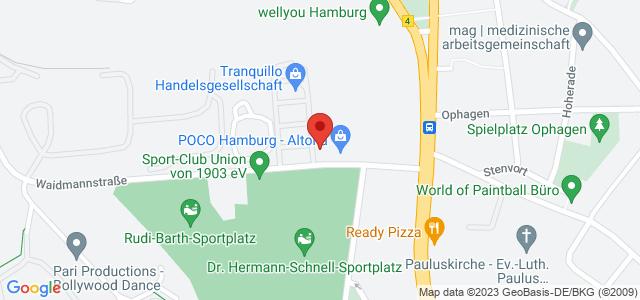 Karte zum POCO Einrichtungsmarkt Hamburg-Altona nicht verfügbar