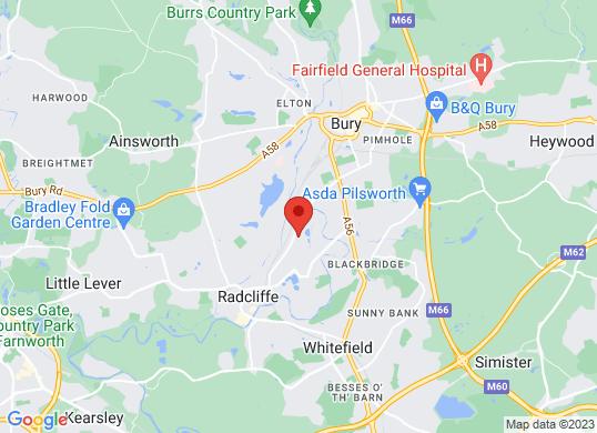 Tottington Motor Company Ltd's location