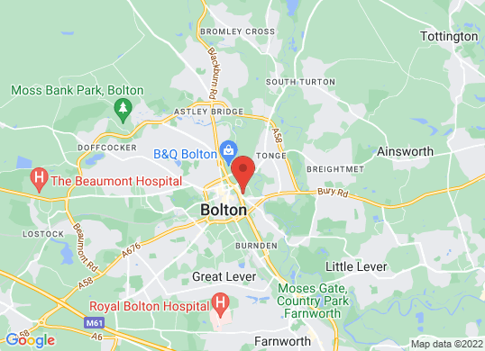 Bolton Audi's location