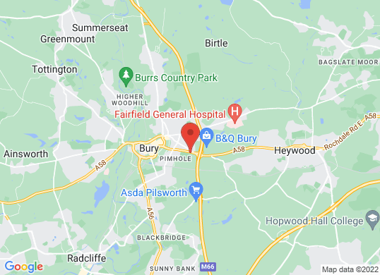 Bury Motors's location