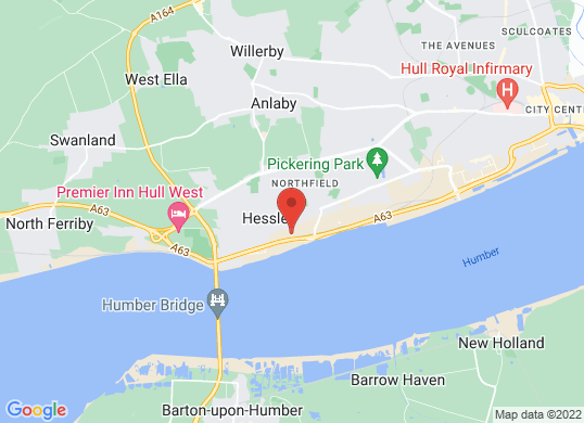 Hull Audi's location