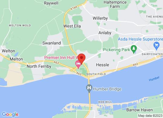 Porsche Centre Hull's location