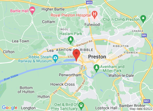 Preston Motor Park (Fiat Volvo & Lotus)'s location