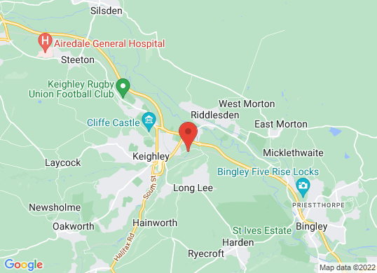 Keighley Ford's location