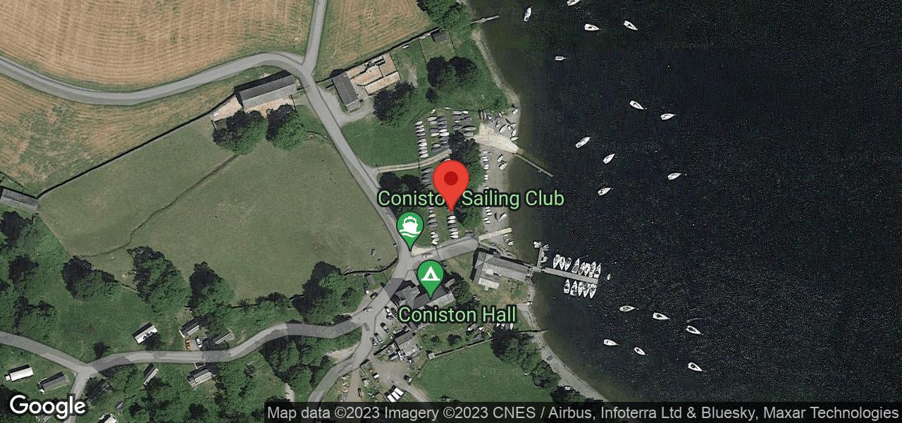 Coniston Hall Landing Point