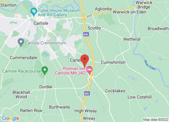 Intercars of Carlisle's location
