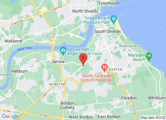 VIC YOUNG (SOUTH SHIELDS) LTD's location