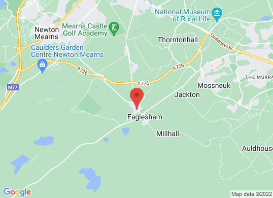Eaglesham Garage Ltd's location