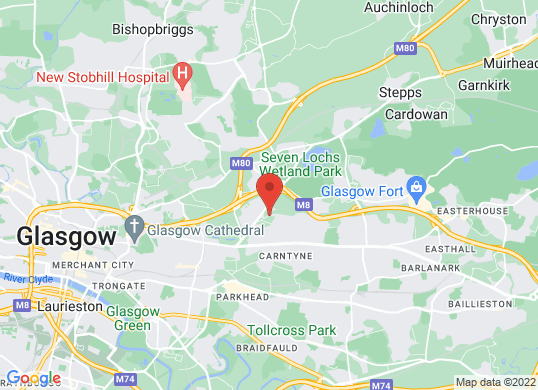 Riddrie Car Sales's location